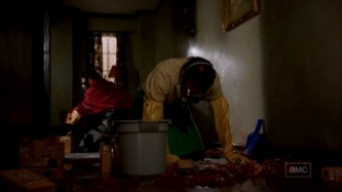 Breaking Bad 01x03 : ...and the Bag's in the River- Seriesaddict